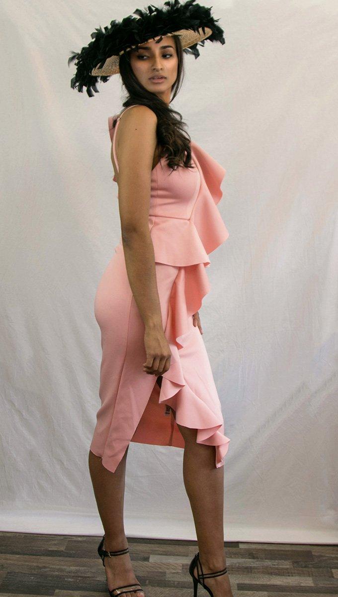 vestido-evento-rosa-volantes-alquiler-me-lo-prestas-2