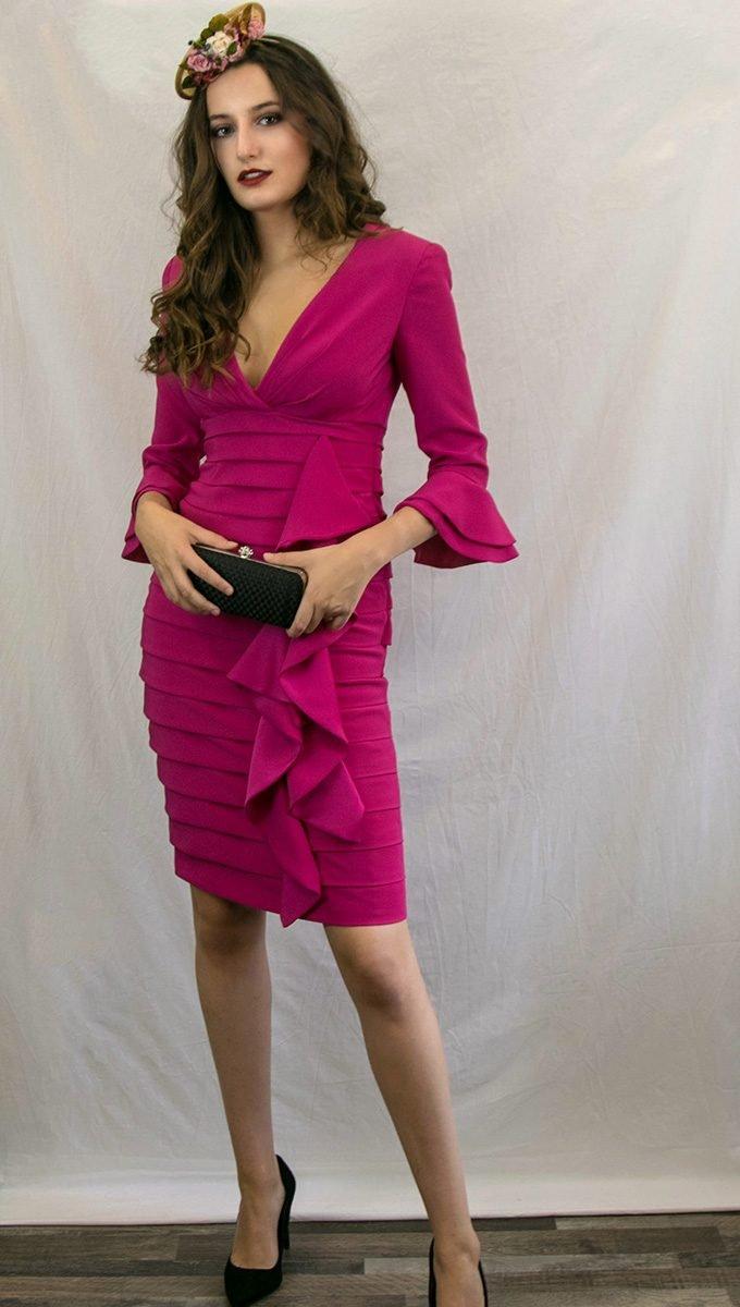 vestido-fucsia-evento-patricia-avendaño-alquiler-me-lo-prestas